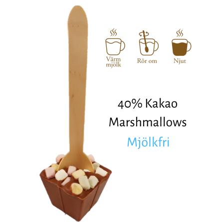 Pralinhuset - Drickchoklad - Mjölkfri - Marshmallows -
