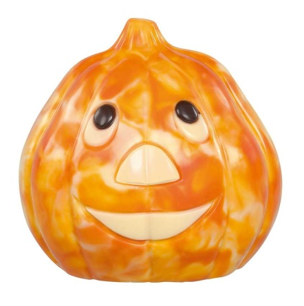 Chokladfigur - Halloween Pumpkin - Vit Choklad - 150 gram -