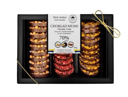 Choklad Mums - Mörk Choklad - 280 gram -