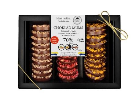 Choklad Mums - Utan Tillsatt Socker - 280 gram -