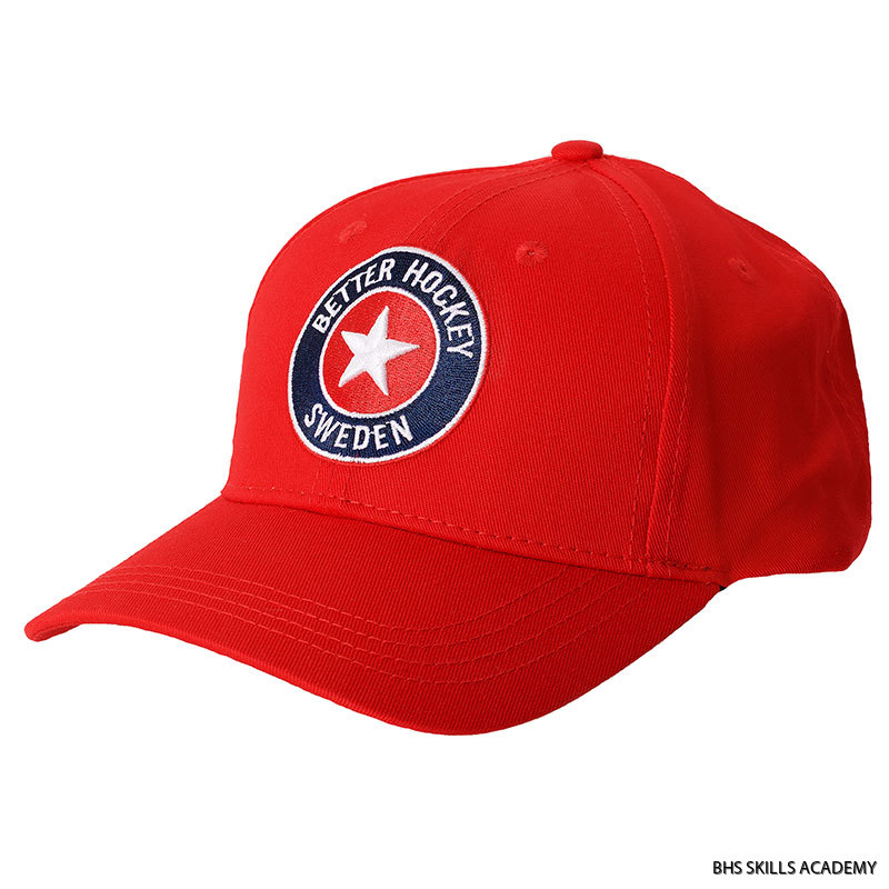 BHS LOGO CAP RED