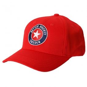 BHS LOGO CAP RED