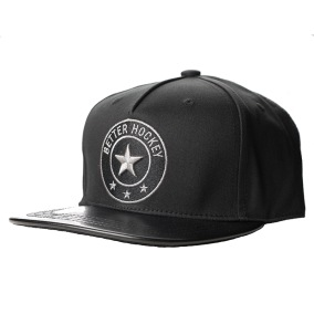 BHS SNAP BACK CAP - BLACK