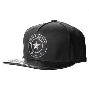 BHS SNAP BACK CAP - BLACK