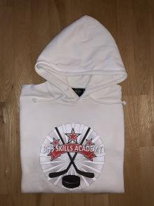 BHS HOODIE - VIT - Storlek 160 / XS