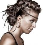 Hårmodell från Halmstad Hair It´s personal