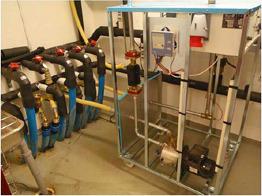 EnergyBoosters första testanläggning