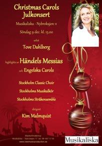 Julkonsert affisch 2012