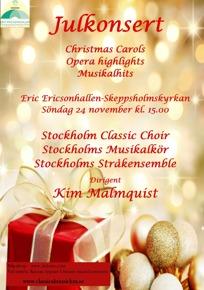 Julkonsertaffisch 2013 A