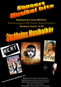 Musikalkonsert 6 maj 2012