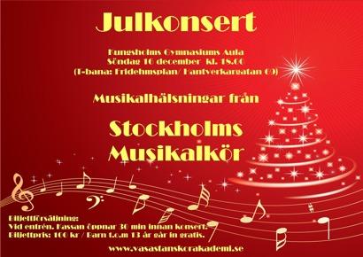 Julkonsert 16 dec 2012 SMK