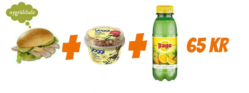 Perfekt till möte! Nybakade fralla med olika pålägg och en apelsin juice!