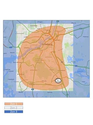 Fråga gärna vad som gäller utkörningszoner, vi hjälper gärna! info@frukostleverans.se