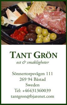 Beställ picknicktallrik hos Tant Grön på Bjäre utanför Båstad
