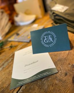 Beställ ett presentkort hos Tant Grön  på Bjäre utanför Båstad