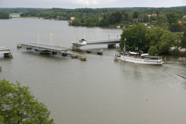 Bron och Strängnäs Express. Foto: Sven G Nilsson
