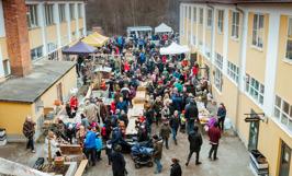 Korv & Brödfestival vid Gula Industrihuset. Foto: Lillan.