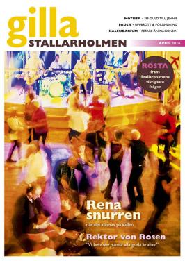 Aprilnumret 2016. Finns som nättidning, se till höger!