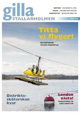 Majnumret 2016. Finns som nättidning, se till höger!