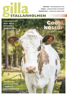 Juninumret 2016. Finns som nättidning, se till höger!