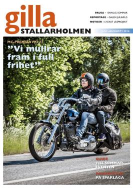 Juli-augnumret 2016. Finns som nättidning, se till höger!