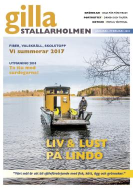 Nyårsnumret 2017. Finns som nättidning, se till höger!