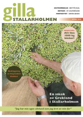 Aprilnumret 2018. Finns som nättidning, se till höger!