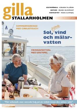 Juli-augnumret 2018. Finns som nättidning, se till höger!