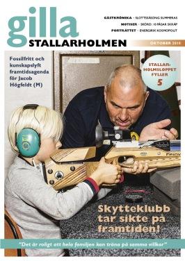 Oktobernumret 2018. Finns som nättidning, se till höger!