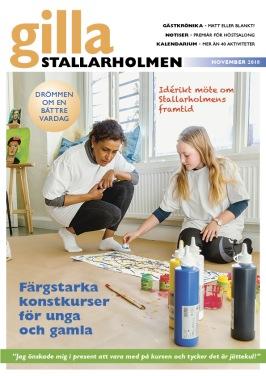 Novembernumret 2018. Finns som nättidning, se till höger!