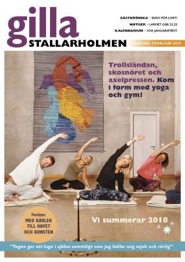 Nyårsnumret 2018. Finns som nättidning, se till höger!