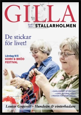 Marsnumret 2019. Finns som nättidning, se till höger!