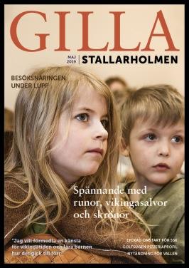 Majnumret 2019. Finns som nättidning, se till höger!