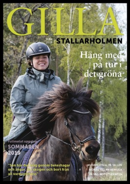 Juninumret 2019. Finns som nättidning, se till höger!