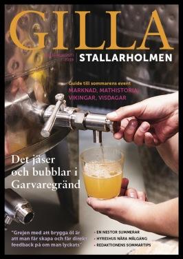 Julinumret 2019. Finns som nättidning, se till höger!