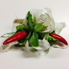 Hårblomma Lilja/chili