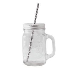 Glas med handtag