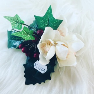 Hårblomma lila/murgröna/julros