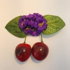 Lila körsbärsblom
