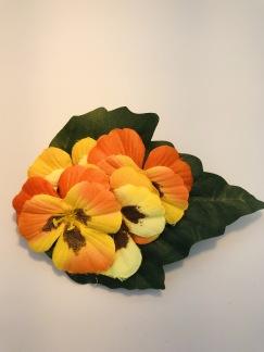 Orange/gul pensé