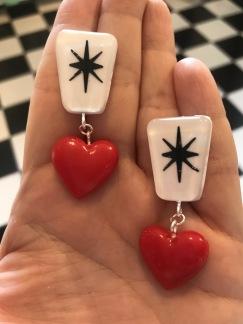 Exclamation heart! Röd