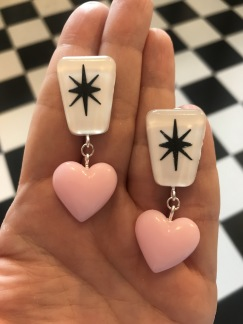 Exclamation heart! Pastell rosa