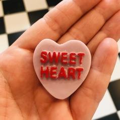 Hjärta- sweet heart- lavendel