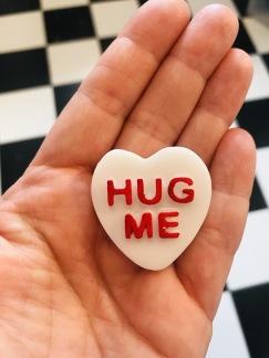 Hjärta- hug me- vit
