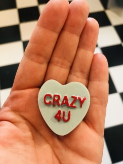 Hjärta- crazy 4u blå