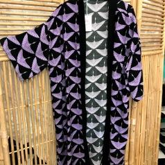 Kimono Lila tranor