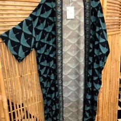 Kimono Blå tranor