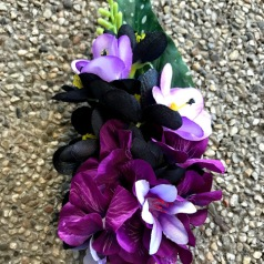 Håblomma svart/ lila