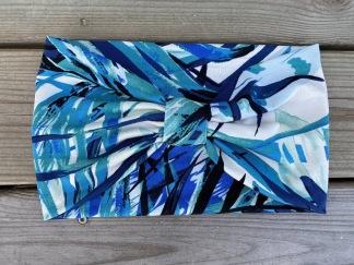 Hårband Tropical blue