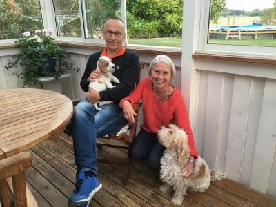 Isa med Susane och Per Nilsson